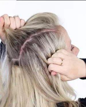 冬季长发怎么扎好看? 长发中长发MM必看