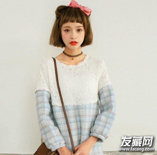 唐嫣赵丽颖全都被坑过 →空气刘海又火了 跟着韩剧女主一起变发型图片