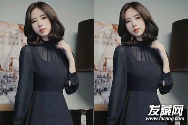 韩式无刘海发型扎 →短发蘑菇头怎么剪?