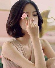 时尚清新的韩式内扣烫发发型设计