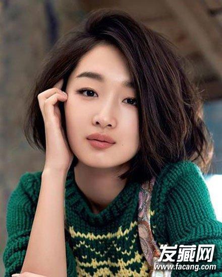【图】10款显脸瘦的发型 最靠谱的长发发型_女生发型图片