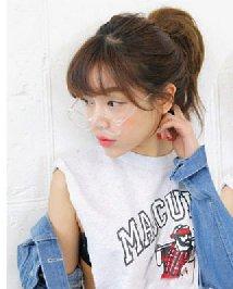精选圆脸女生刘海发型图片 可爱内扣中短发发型
