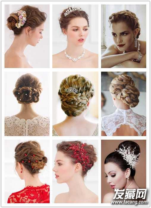 发型图片 盘发发型图片 > 梦幻唯美的新娘盘发图片,准新娘美美出嫁!图片