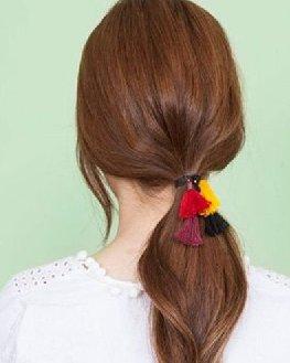 DIY个性发饰让扎发更有趣 如何自