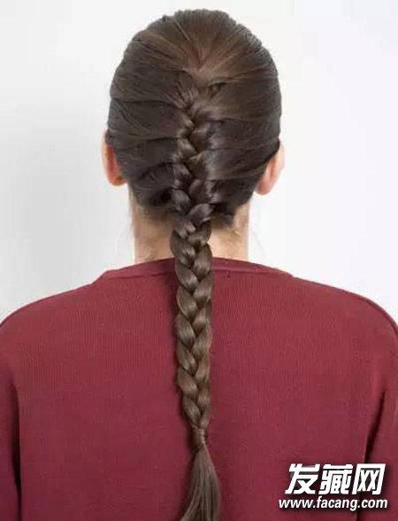 教你变身编发高手 编头发的方法图解(2)