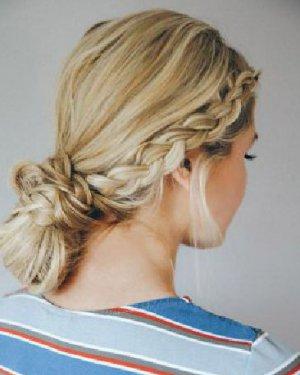 编发发髻&马尾辫 早起五分钟就能扎出的漂亮发型
