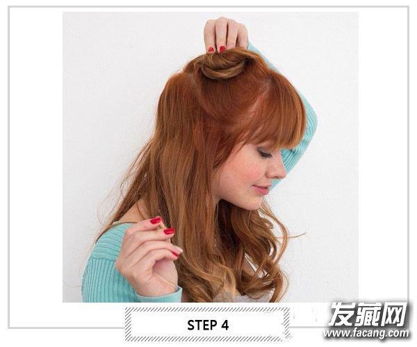 外国人教你扎辫子 扭一扭扎出好发型(4)