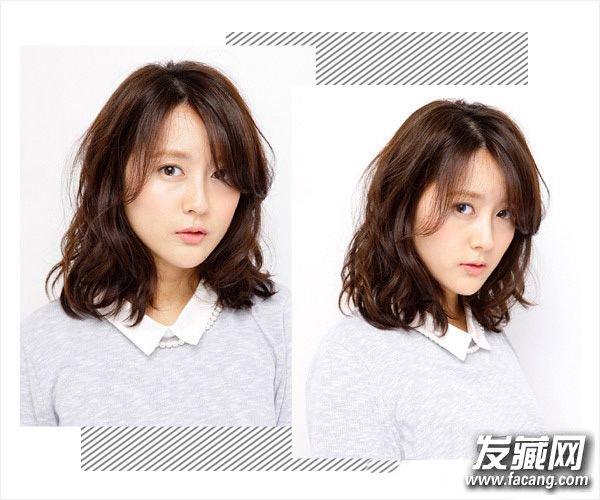 长脸适合的发型趋势 看脸型找准适合自己的(6)图片