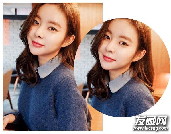 过年必剪的韩式发型 长短发简约的直发发型(2)图片