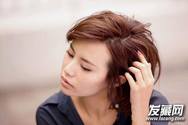 短发弄什么发型好看 超短发配上超短齐刘海(6)图片