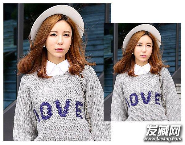 微显厚重感的齐刘海发型 可爱发型专为大学生准备(3)