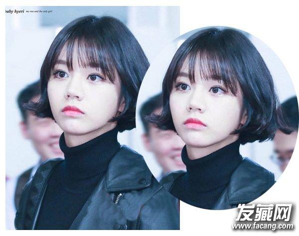 【图】时尚韩式中短卷发发型