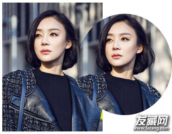 不同脸型适合的短发 看明星亲身示范(3)
