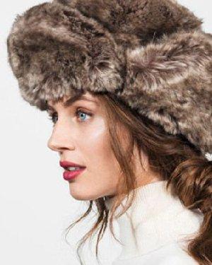 保暖美搭有一套 冬季帽子与发型搭配