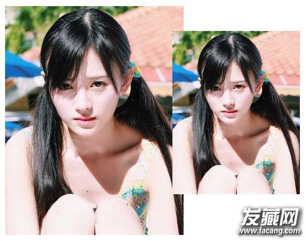 圆脸怎么扎头发显瘦 圆脸适合扎什么发型(3)图片