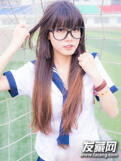 【图】高中生适合什么发型 展现可爱女神气质_女生_发