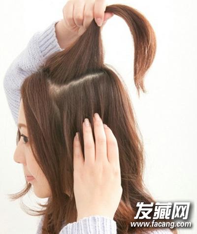 蓬松辫子盘发图解 打造气质优雅盘发