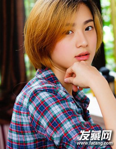 女生短发发型设计 轻松演绎帅气范儿图片