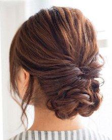 麻花辫盘发&扭转辫子 长发如何盘发