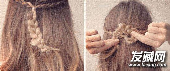 怎么扎丸子头好看 加入编发和春天更配呢!(3)图片