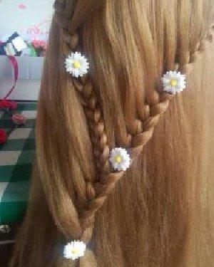 漂亮的编发发型 介绍一款好看的长发编发