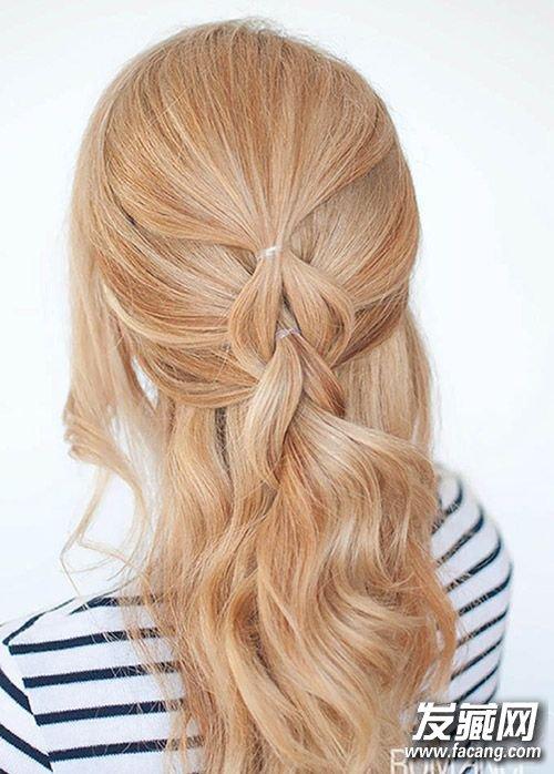 这些编织发型就可以轻松胜任 辫子发型扎法图片