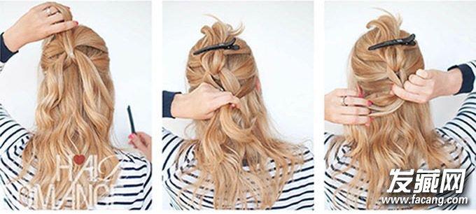 这些编织发型就可以轻松胜任 辫子发型扎法(2)图片