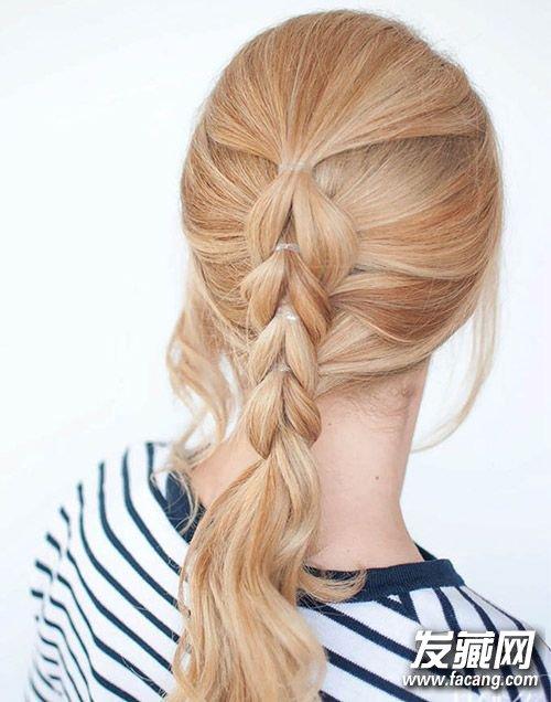 这些编织发型就可以轻松胜任 辫子发型扎法(3)图片