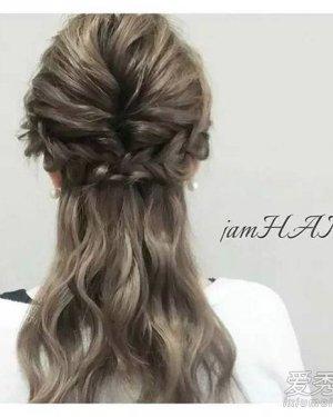 【韩国扎头发的方法图解】