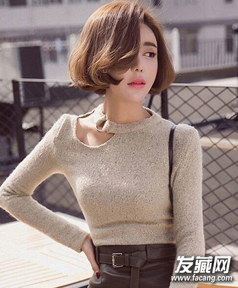 【图】2016女生短发发型图片