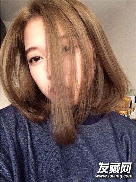 中长发微卷鲍伯头 微卷波波头发型 3