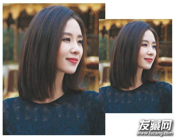 女人发型图片(4)  导读:成熟女人适合的发型8 气质的中分与中短直发图片