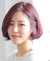 学韩国MM弄一款短烫发 短发弄什么发型好看