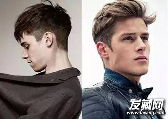 男生头发少适合的发型(4)图片