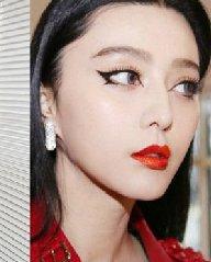 范冰冰女王范的中分发型 你的脸型适合吗?