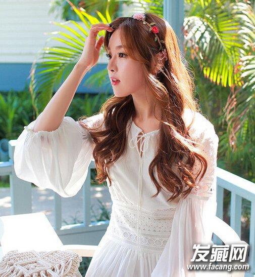 而小清新的薄刘海韩范还俏皮可爱