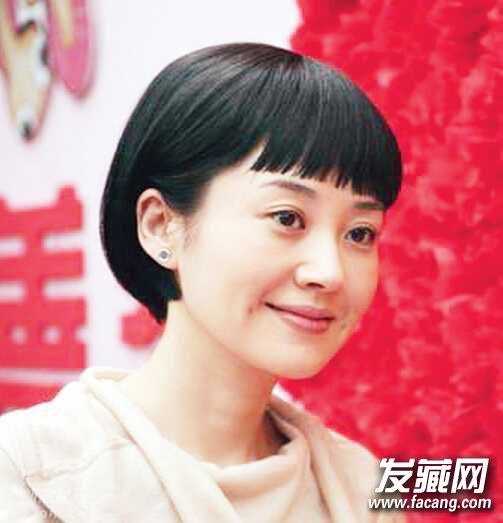 鹅蛋脸适合什么刘海?斜刘海,无刘海