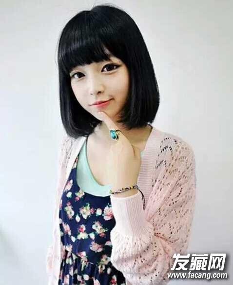 发型网 发型图片 刘海发型图片 > 什么刘海才会更适合自己 中齐斜无图片