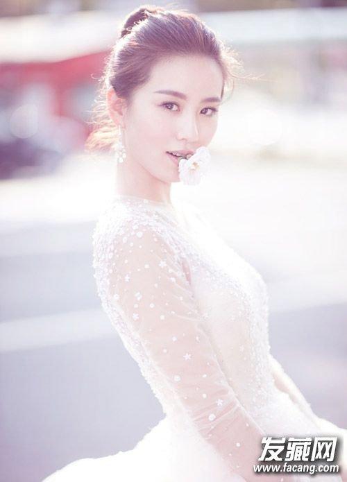 诗隆婚纱照曝光新娘发型抢鲜看 吴奇隆刘诗诗婚纱照
