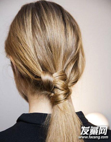 怎么扎头发简单又好看? 低马尾可是首选呢 怎么扎低马尾图片