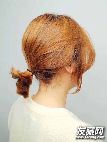 马尾扎一半也很好看 ol速成发型打理方法 →春季要学的编发 低马尾图片