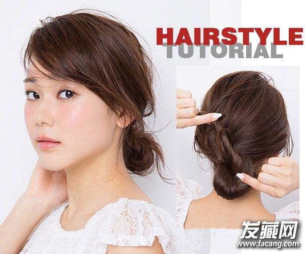 夏天扎头发简单好看的教程 夏天头发怎么扎好看(2)图片