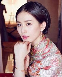 新娘刘诗诗的盘发造型 刘诗诗大婚同款新娘盘发怎么梳?