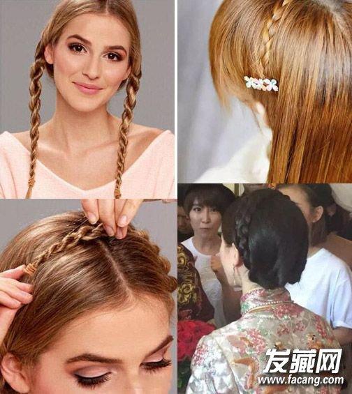 新娘刘诗诗的盘发造型 刘诗诗大婚同款新娘盘发怎么梳?(2)图片