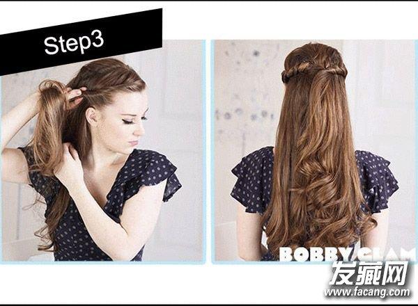 7款超简单扎发教程 扎头发简单的方法(6)