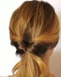 日本妹子最爱的旋转式编发 扎头发的简单方法