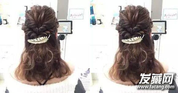 春季出游怎么扎头发好看 简单好看的编发 →编发是一种老少通吃的发型图片