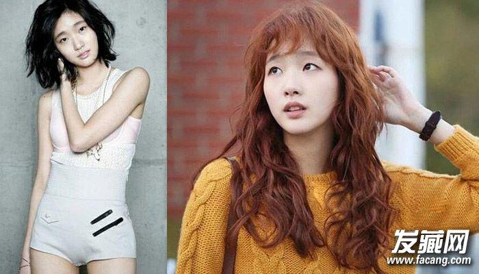 """樱花妹则是出现了短发加""""露眉 刘海""""这种可爱的 发型."""