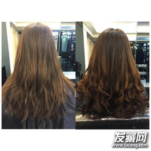 好一计背影杀!2016女生烫发技巧揭秘 怎么烫头发好看图片