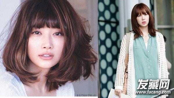 短发可爱发型设计 长短发都离不开刘海(2)